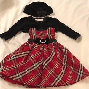 NWOT Girls 3 piece Holiday Outfit
